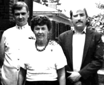 Dorothy Lee and her sons, Donald and Edward (1986)